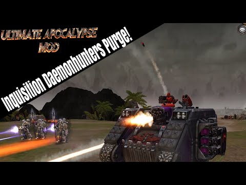 Dawn of War Ultimate Apocalypse - Inquisition Daemonhunters Purge!