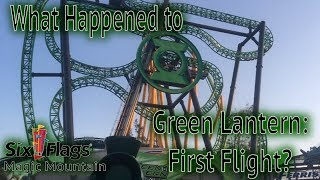 What Happened to Green Lantern: First Flight?