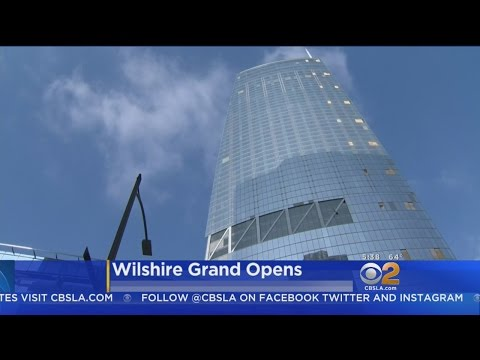 Thumbnail: Wilshire Grand, Tallest Building West Of Mississippi, Opens In Downtown LA