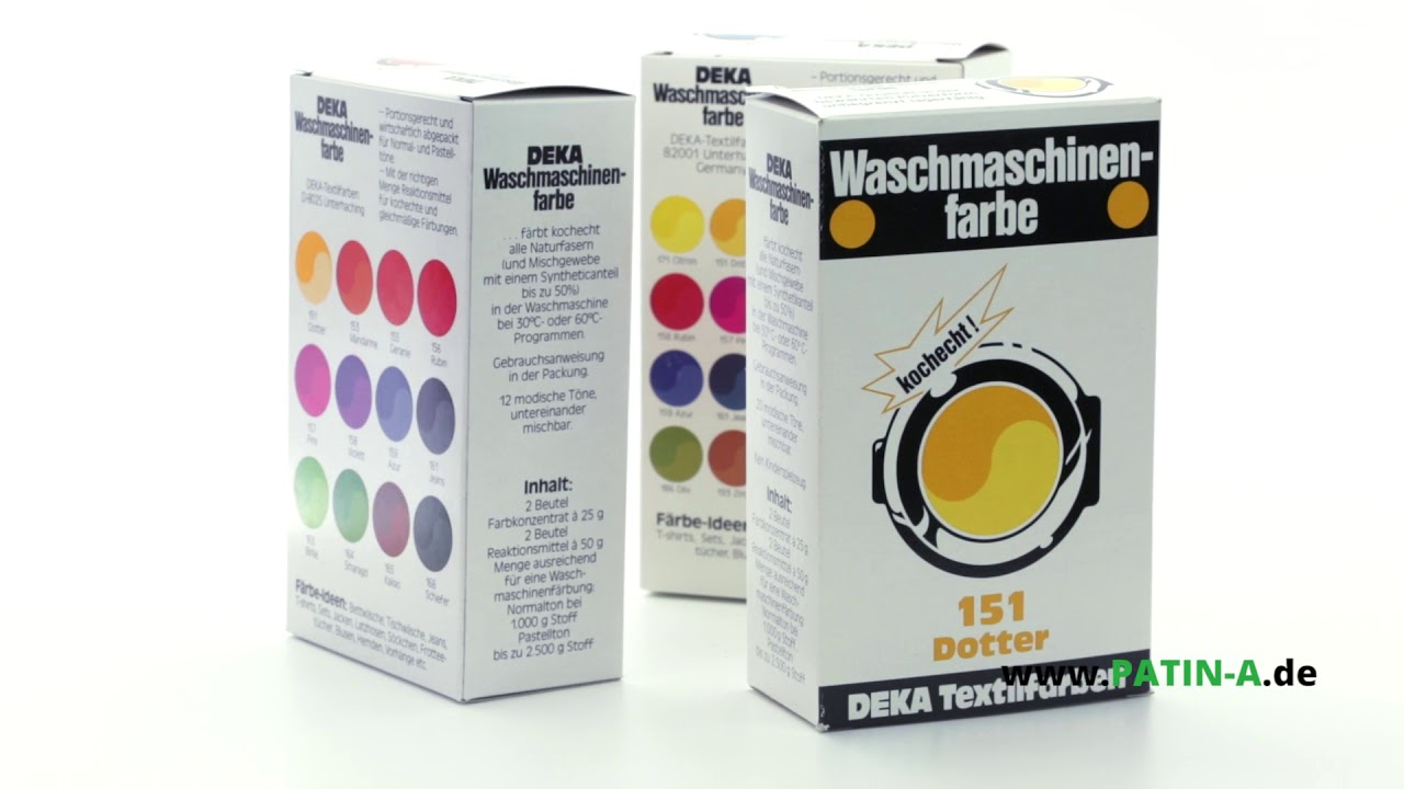 Deka Machine Fabric Dye For Best Dyeing Results