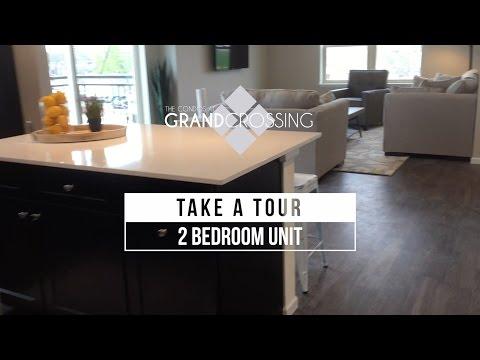 2 Bedroom / 2 Bathroom Unit Video Tour Grand Crossing