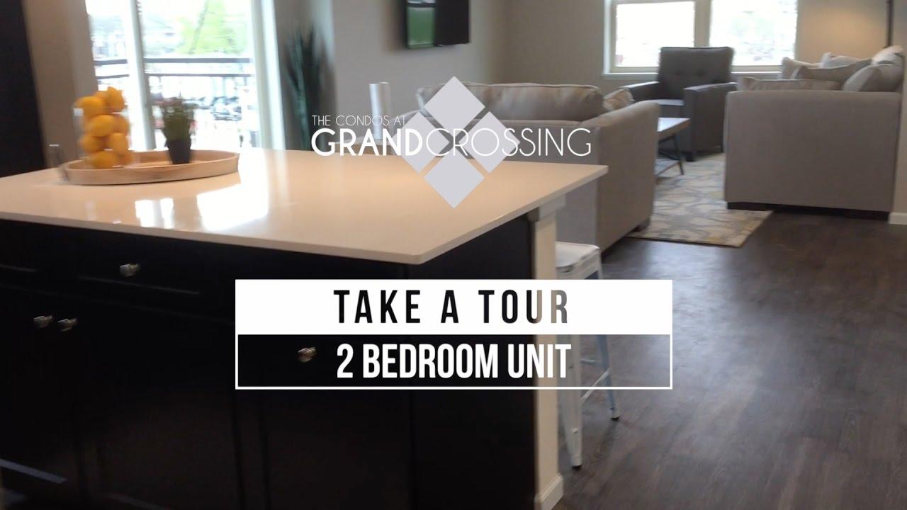 2 Bedroom / 2 Bathroom Unit - Video Tour - Grand Crossing Condos -  Waterloo, Iowa