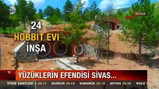 Sivas'ta Hobit Köyü Kuruldu!