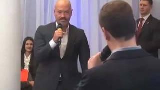 """Бондарчук и """"жёсткий"""" Медведев"""
