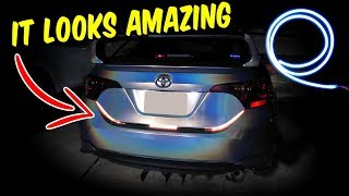$15 Trunk LED Strip Install fo…