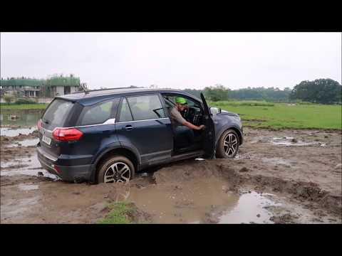 Tata Hexa 4x4 in slush part 1