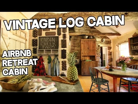 Cabin Creek Artist Retreat, 1863 antique Log Cabin, 28 ac, Vintage log cabins + barns for sale KY