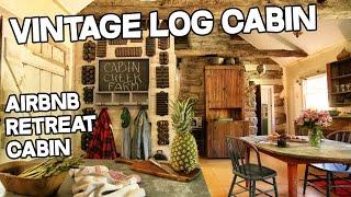 Cabin Creek Artist Retreat, 1863 antique Log Cabin, 28 ac, Vintage log cabins + barns for sale KY