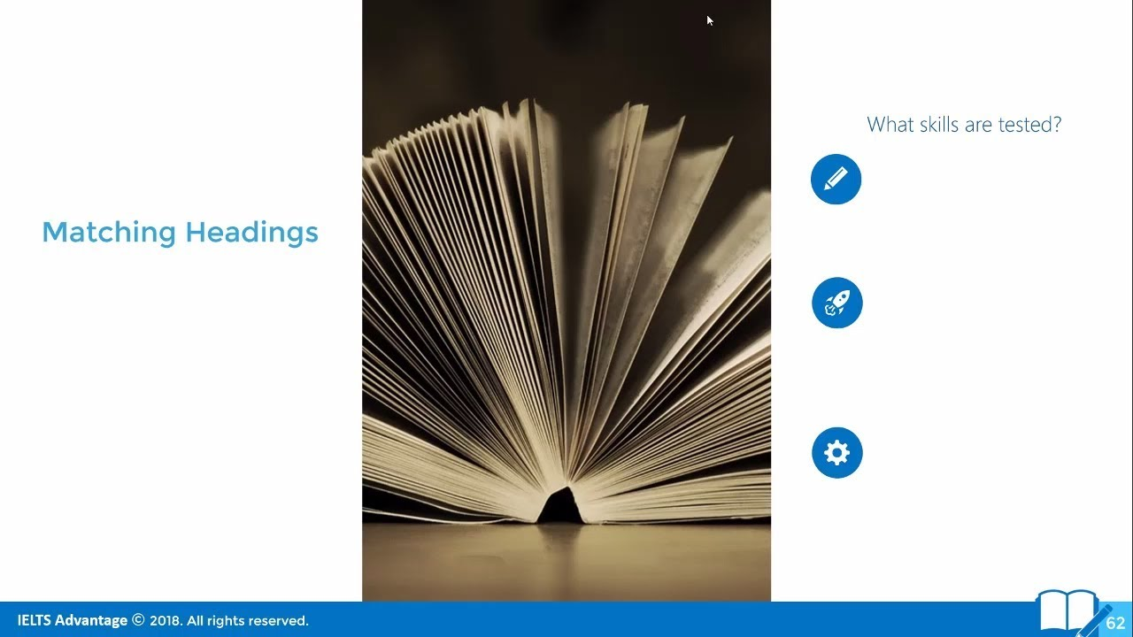 IELTS Reading Strategy: Matching Headings
