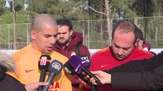 Feghouli Lig ve Kupa şampiyonluğunda iddialı I Galatasaray