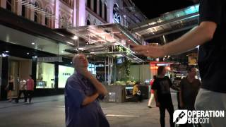 """I can't get right with God"" Brisbane Outreach 10 Jan 2015"