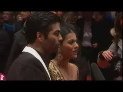 SRK, Kajol & Karan~ Berlinale 2010~ My Name is Khan (Part2)