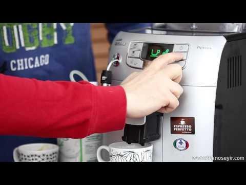 Philips Saeco Intelia Kahve Makinesi Incelemesi