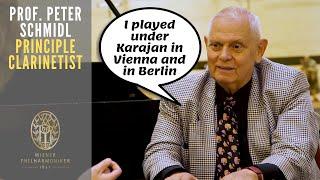 I played under Karajan in Vienna and in Berlin - Prof. Peter Schmidl (2020 | English subtitles)