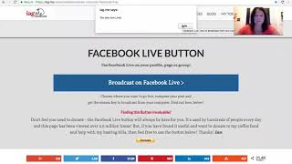 How to go live on FB from your Zoom Call