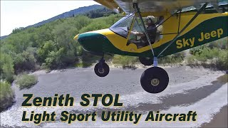 Zenith STOL flight demonstration