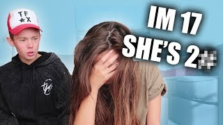 CONFRONTING our AGE Difference! *GOLD DIGGER EXPOSED*