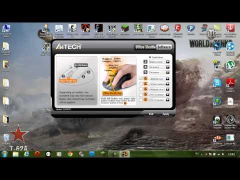 видео: 4 кнопка мышки a4tech решение