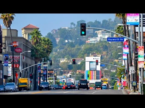 Sunset Boulevard, Part 20: Fairfax Ave. To Laurel Canyon Blvd., Hollywood