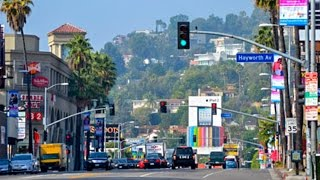 Sunset Boulevard, Part 20: Fairfax Ave. To Laurel Canyon Blvd., Hollywood