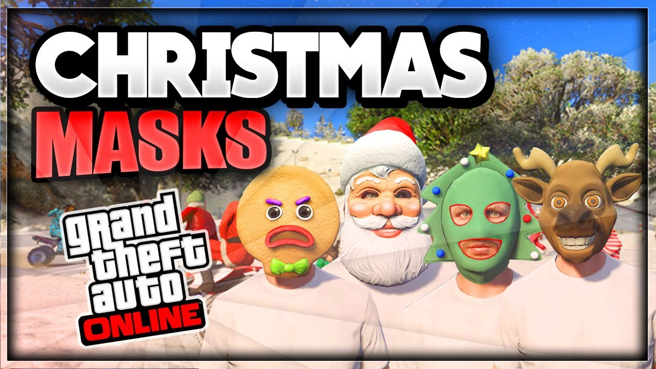 Gta 5 Online Christmas Masks.Gta 5 Online Obtain Rare Christmas Masks In Freemode Glitch 1 33 Gta 5 Christmas Mask Glitch