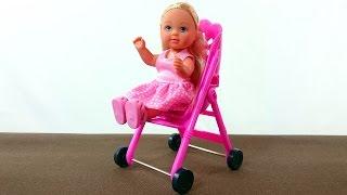 Видео с куклами: Кукла Штеффи: Прогулка с папой: Куклы для девочек:  Развивающие игрушки для детей(Видео с куклами познакомит детей с любимицей девочек очаровательной куклой Штеффи и ее семьей. Давайте..., 2014-12-29T09:47:49.000Z)