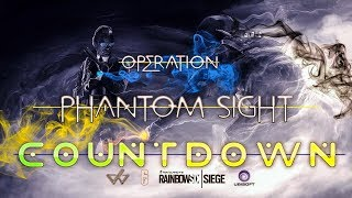 Rainbow Six Siege |  PS4 PRO | !Discord | !Soundboard | Ranked | Operation Phantom Sight Countdown !