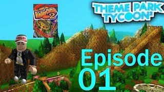 Roblox Theme Park Tycoon 2 Ep. 1 Weird Names & RCT