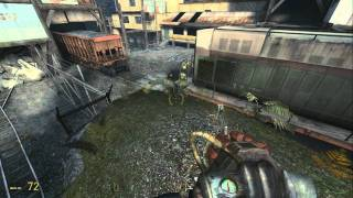 Half-Life 2: Episode Two - How to save Alyx from the Hunter