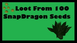RS | Loot From 100 Snapdragon Seeds