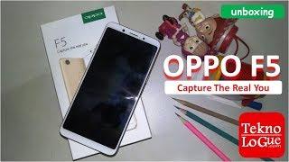 Unboxing++ OPPO F5 4GB/32GB - Indonesia (ada tes kamera dikit)