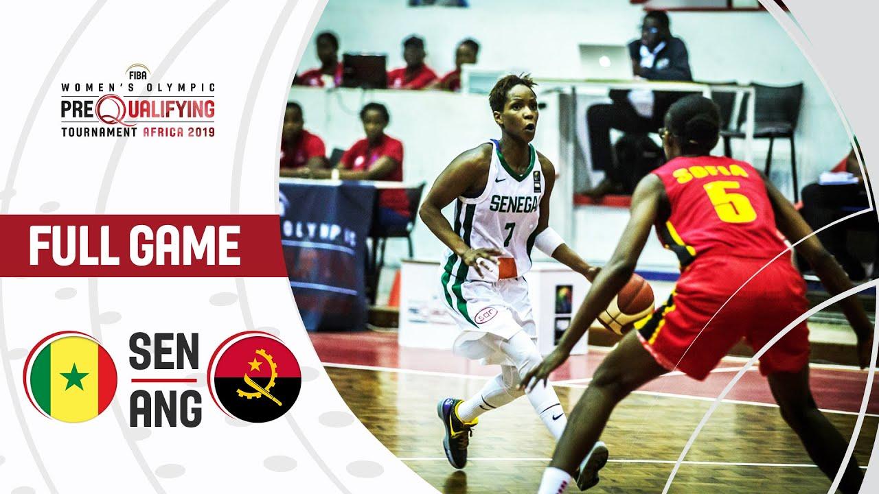 Senegal v Angola - Full Game - FIBA Women's Olympic Pre