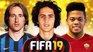 ULTIMO GIORNO DI MERCATO SERIE A! TOP 10 TRASFERIMENTI ASSURDI IN FIFA 19! [Modric, Bailey, Rabiot]