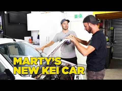 Marty's New Kei Car [Part 2]