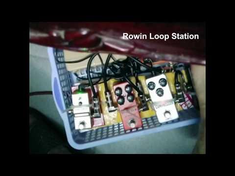 Rowin LN 332S Loop Station, Katana 50 Clean + Hunor Headless HSS