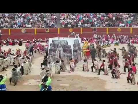 Carnavales plaza de acho  FIPROVIL 2017. Comparsa de Vilcas Huaman.