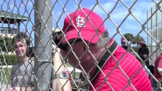 St. Louis Cardinals Spring Training-Full Squad Workout 2014