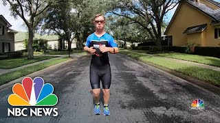 21-Year-Old Is First Athlete With Down Syndrome To Attempt Ironman Triathlon | NBC Nightly News