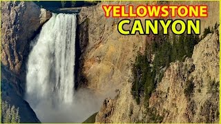 RV Camping at the Grand Canyon of Yellowstone National Park