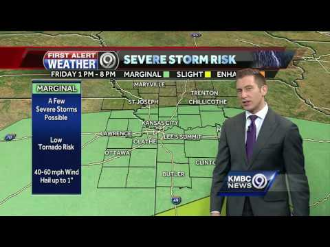 Storms likely to develop later today