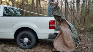 Pickup Bed Tent [Cheap Easy DIY]