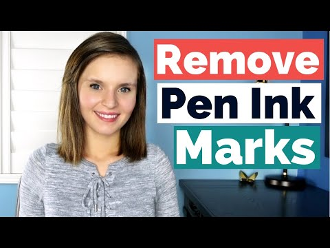 How to remove pen marks from walls -  3 ways to get rid of the pen ink!