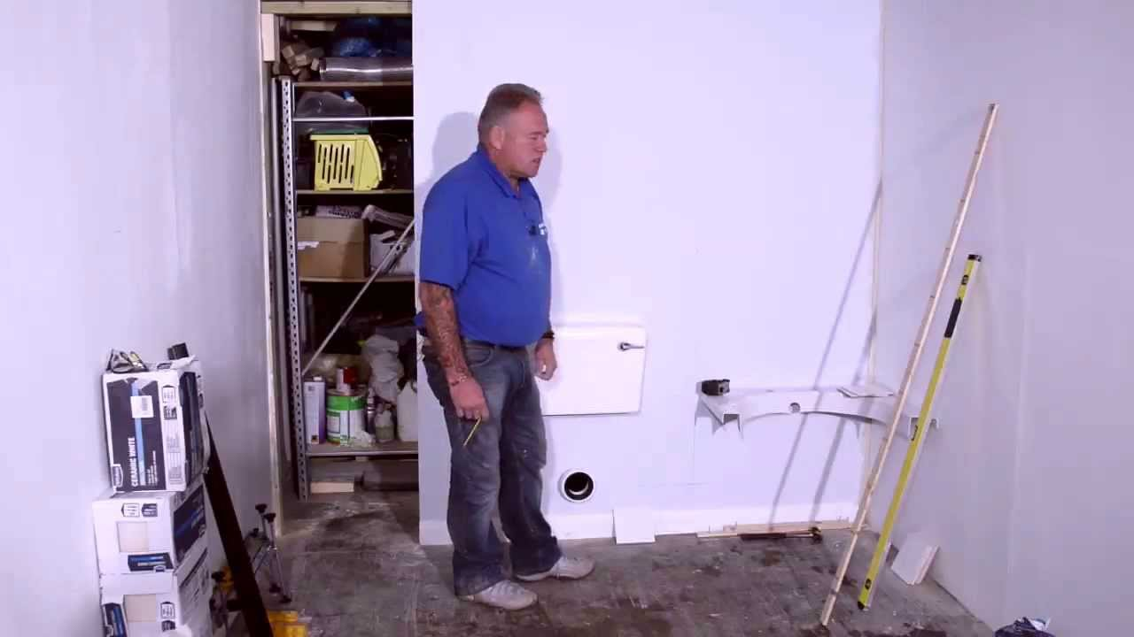 How to Correctly Set Out a Bathroom for Tiling - YouTube