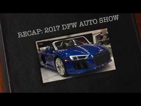 DFW Auto Show | 2019 | New Model Year Vehicles and High-End