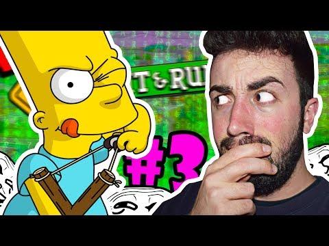 BART Y YO ROMPEMOS EL JUEGO 😱💥 | Simpsons Hit & Run