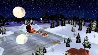 Xmas Santa Claus Sleigh