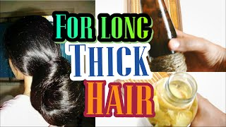 How to grow hair FASTER and LONGER   See results in a WEEK!