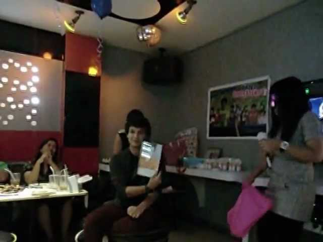 Paololicious Aika Birthday Message and Gift for Paolo Travel Video