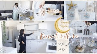 Decorate With Me | Ma déco Ramadan 2021