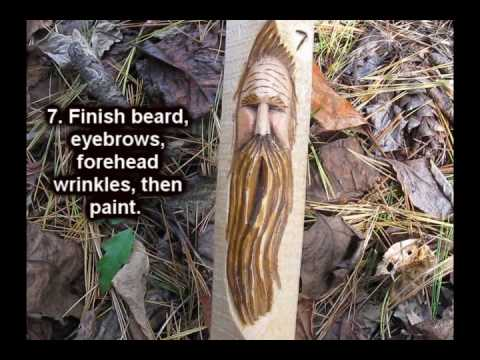 Carving A Simple Woodspirit Face Quick Review Of The
